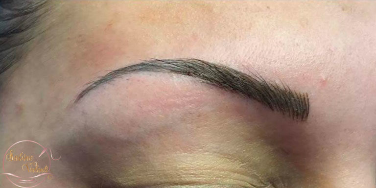 Maquillage permanent des sourcils Sabine Valenti