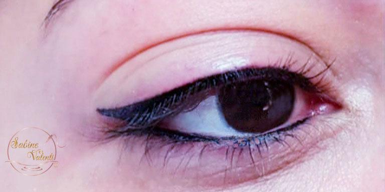 maquillage permanent yeux Eye liner sabine valenti