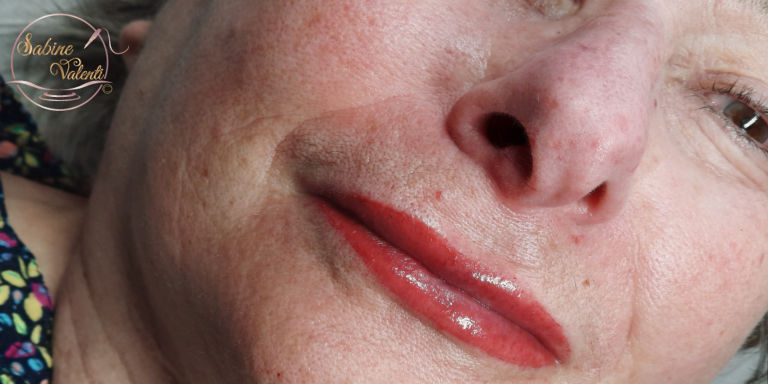 maquillage permanent des lévres sabine valenti
